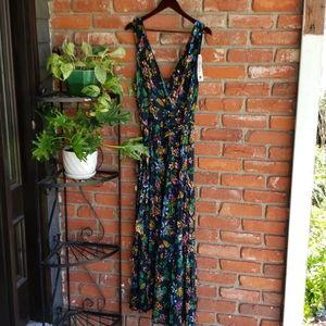 Willow & Clay Tropical Maxi Dress XL